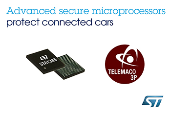 STMicroelectronics' Advanced Automotive Processors with Built-In Security Set to Protect Connected Cars against Cyber Threats