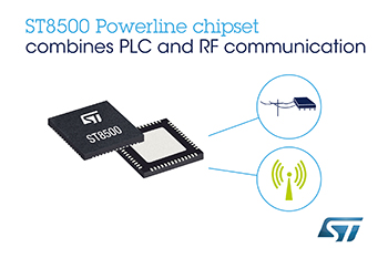 STMicroelectronics Adds Wireless Support to Proven Smart-Meter Chipset for More Flexible, Scalable Smart Infrastructures