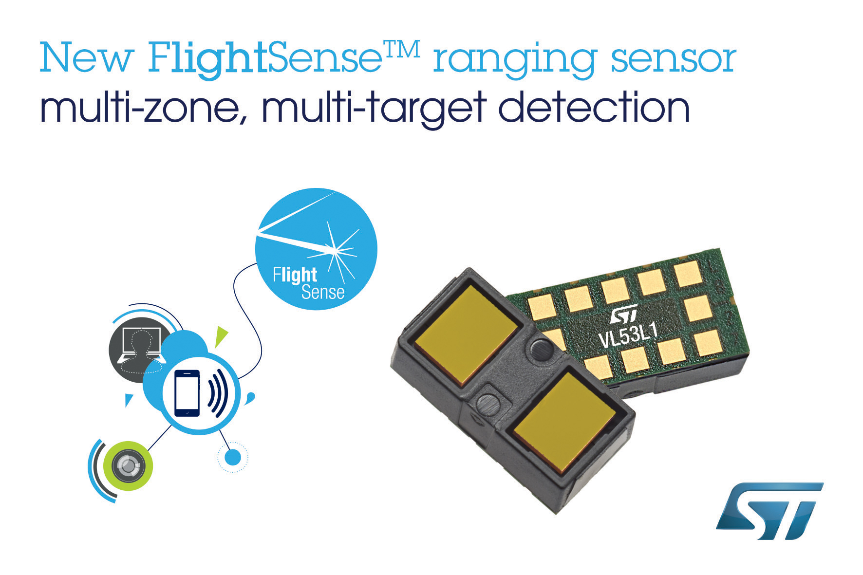 Stmicroelectronics Latest Time Of Flight Ranging Sensor