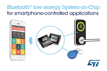 Next-Generation Bluetooth Low Energy Chip from STMicroelectronics Boosts the Boom of Connected Smart Things