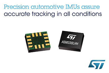 New Precision MEMS Sensor from STMicroelectronics Supports Accurate Positioning and Control for Cars