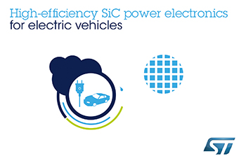 STMicroelectronics to Supply Advanced Silicon-Carbide Power Electronics to Renault-Nissan-Mitsubishi for High-Speed Battery Charging in Next-Generation Electric Vehicles