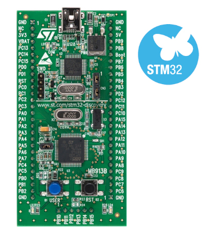 Stm32vldiscovery Discovery Kit With Stm32f100rb Mcu