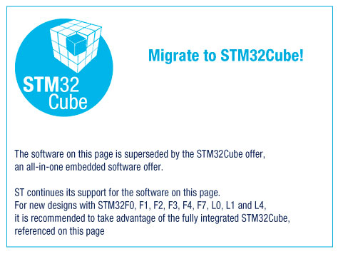 Migrate to STM32Cube