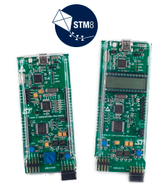 STM8A-DISCOVERY board photo