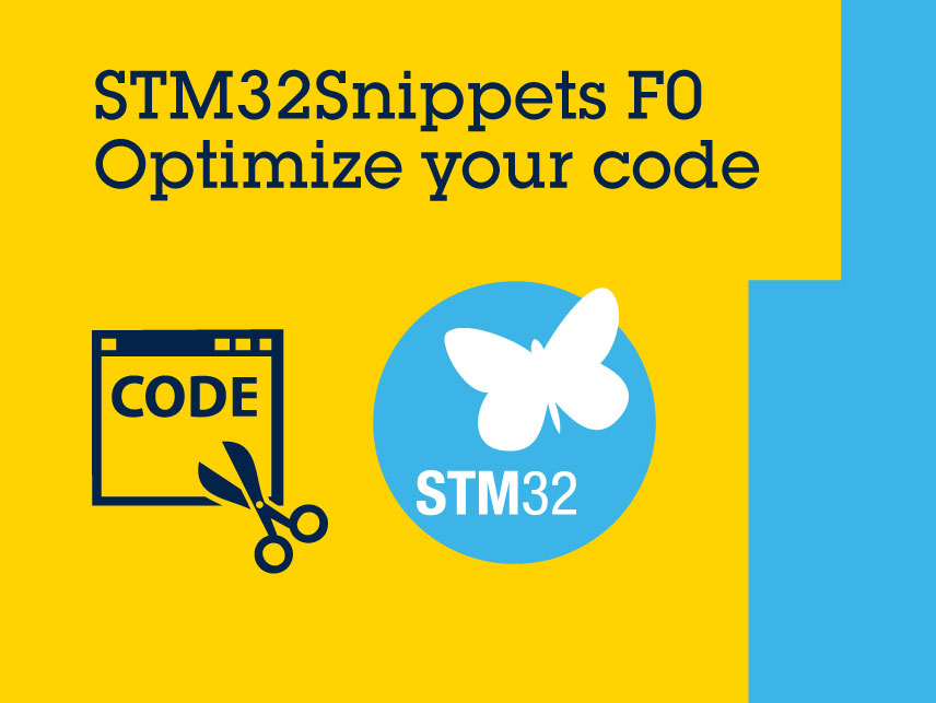STM32SnippetsF0 branding visual