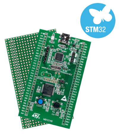STM32F0DISCOVERY board photo