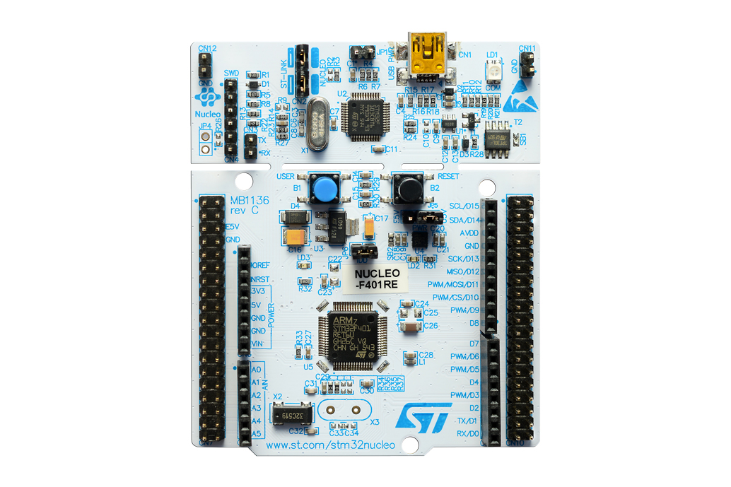 Nucleo F4 board photo
