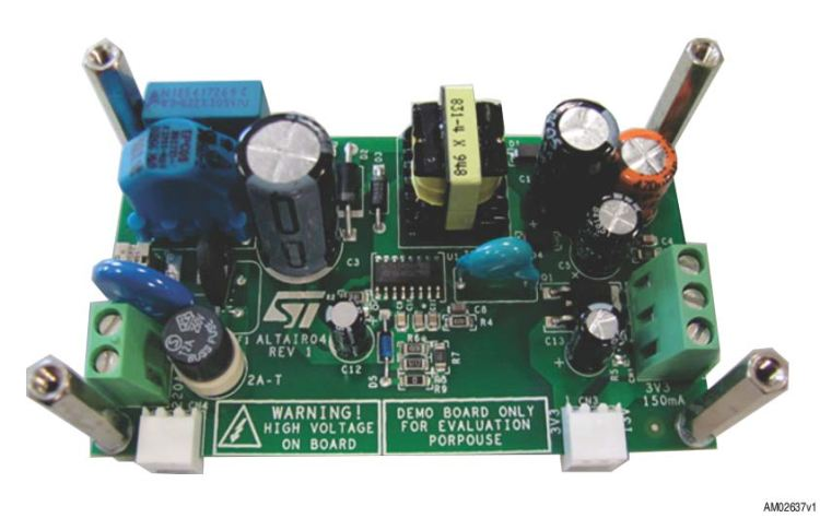 STEVAL-ISA133V1 - Double output SMPS for power line applications