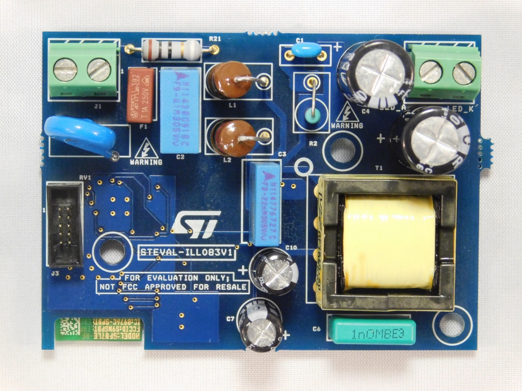Steval Ill083v1 Smart Home Lighting Based On Hvled815pf And Spbtle Oem Led Light Circuit Boardled Pcb Assembled Service Cerohs Approved Image