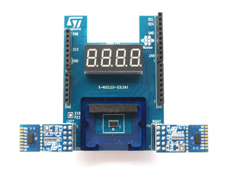 X-NUCLEO-53L0A1 board photo for imaging proximity sensor
