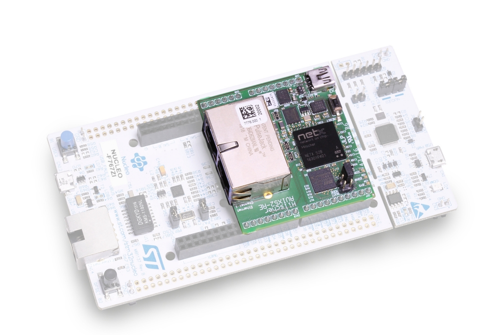 netSHIELD industrial ethernet protocols expansion board for STM32 Nucleo