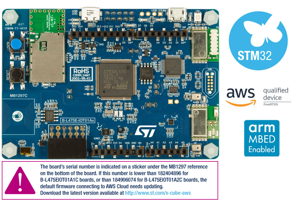 STM32L412C8 - Ultra-low-power with FPU Arm Cortex-M4 MCU 80 MHz with