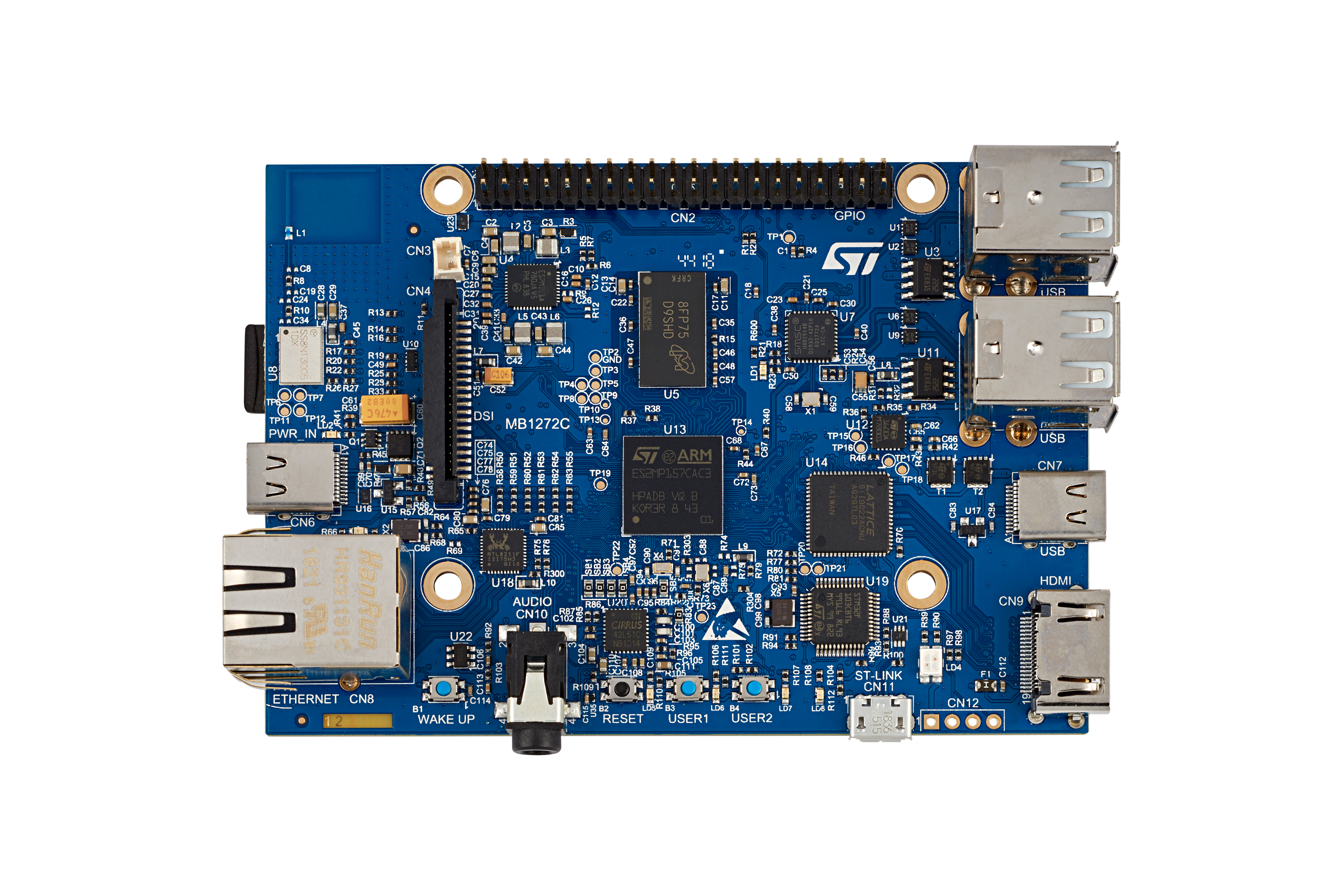 STM32MP157A-DK1 Discovery kit photo