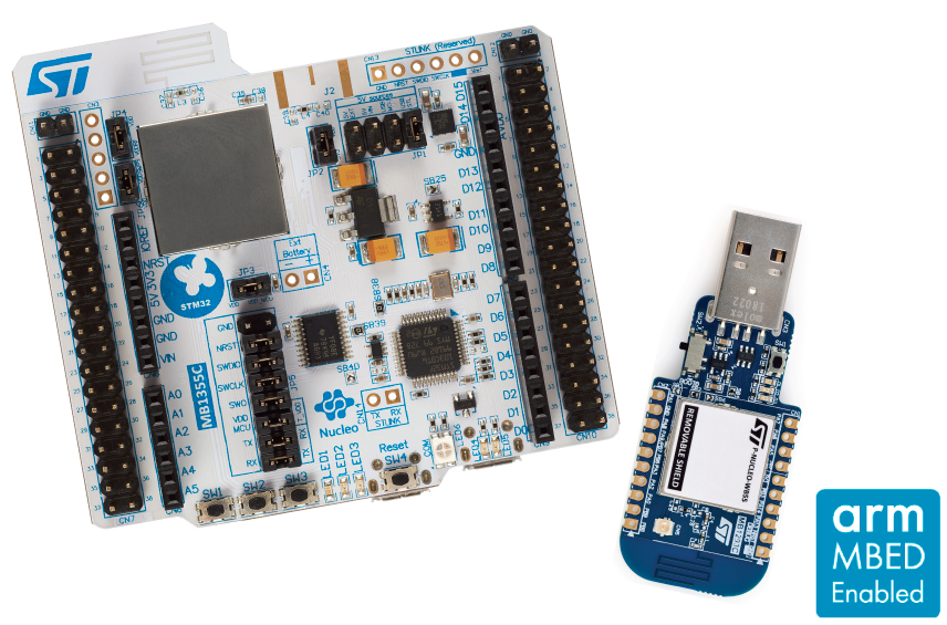 P-NUCLEO-WB55 Board photo