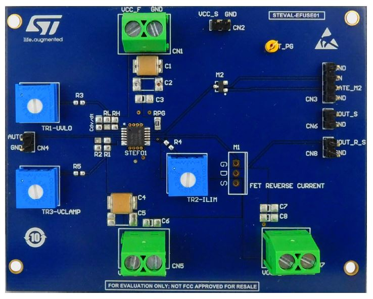 STEVAL-EFUSE01 - Evaluation board based on the STEF01 fully