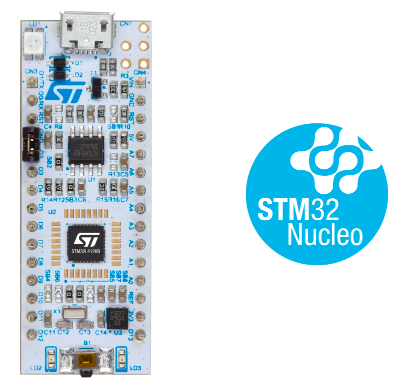 Nucleo-L412KB Board photo