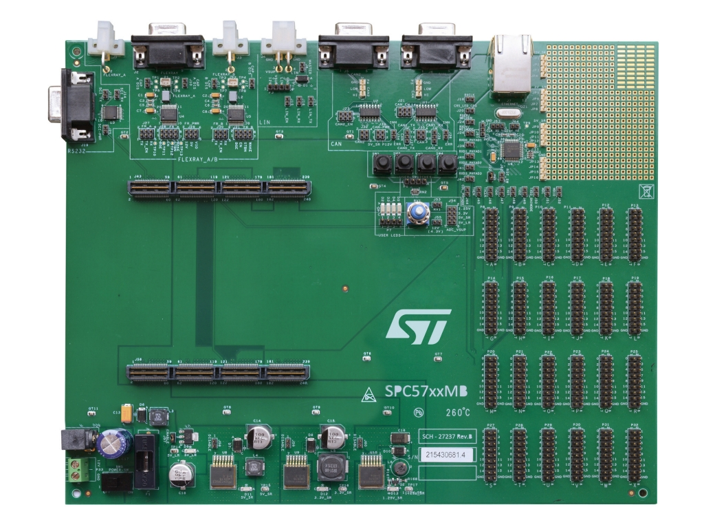Spc57xxmb Motherboard For Spc57 And Spc58 Families Of Digital Power Control 32 Bit Mcu Image