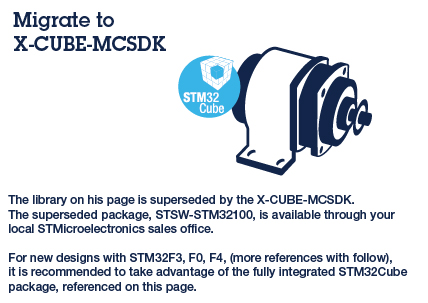 Migrate to X-CUBE-MCSDK