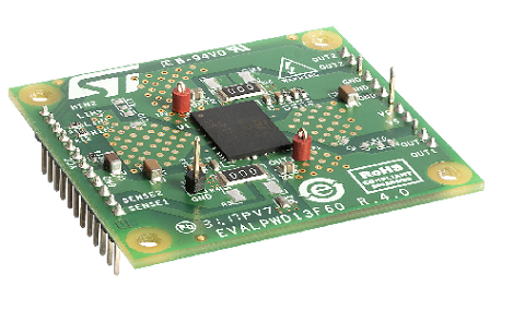 EVALPWD13F60 - High-voltage evaluation board for the PWD13F60