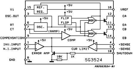 sg3524 - voltage mode pwm
