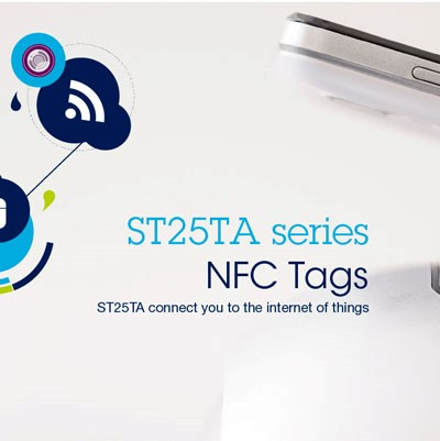 ST25TA connects your to the IoT