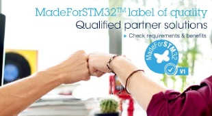 MadeForSTM32, The New Label for Excellent Software on STM32 MCUs