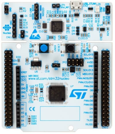 arm m0 plus development board supporting Arduino
