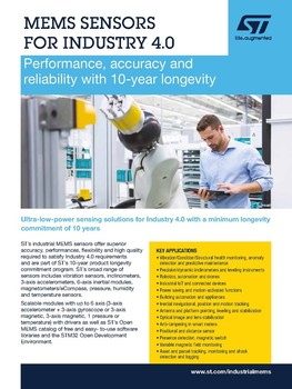 Products and solutions for Smart industry brochure pdf
