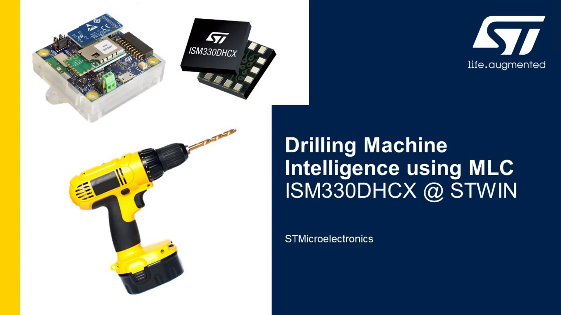 Video Drilling with MEMS sensors and deep edge AI