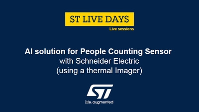 PDF: AI solution for People Counting Sensor with Schneider Electric using a thermal Imager