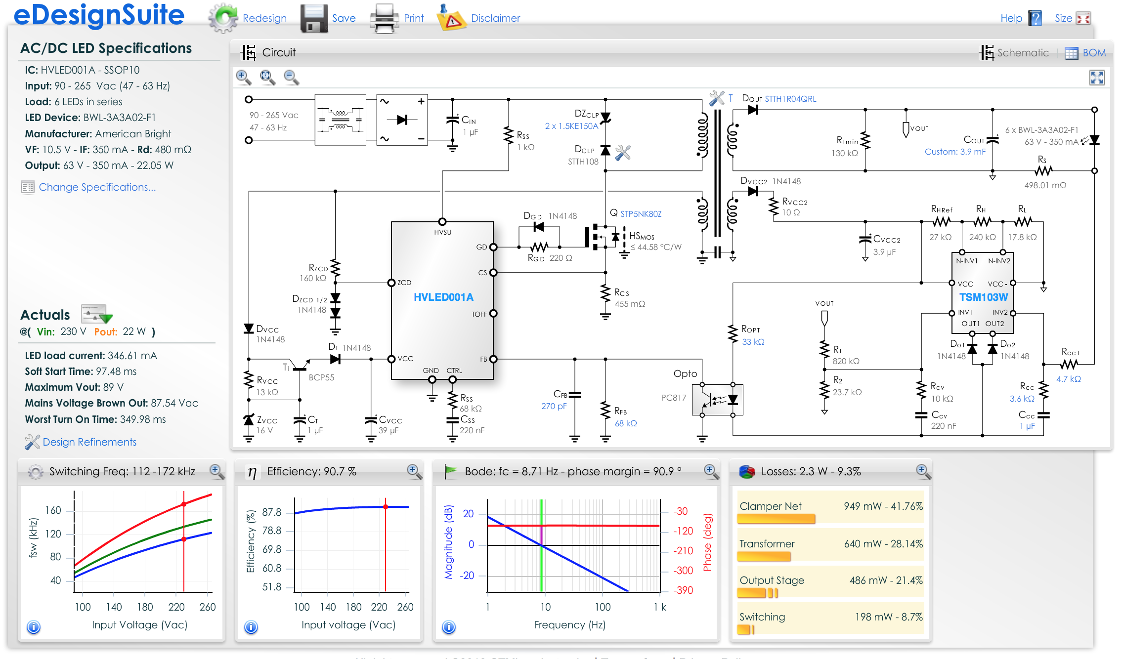 Edesignsuite Stmicroelectronics Intelligent Network Builders Views Electrical Oneline Diagram Smart Simulator And System Design View