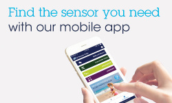 mems and sensors finder mobile app