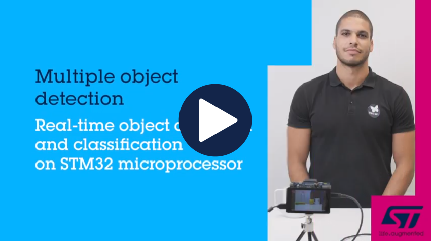 AI on STM32 : Multiple Object Detection with X-LINUX-AI